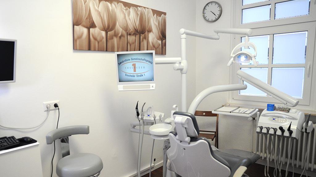 Zahnärztliche Gemeinschaftspraxis Enscheder Strasse 1 Foto des Behandlungszimmer 1