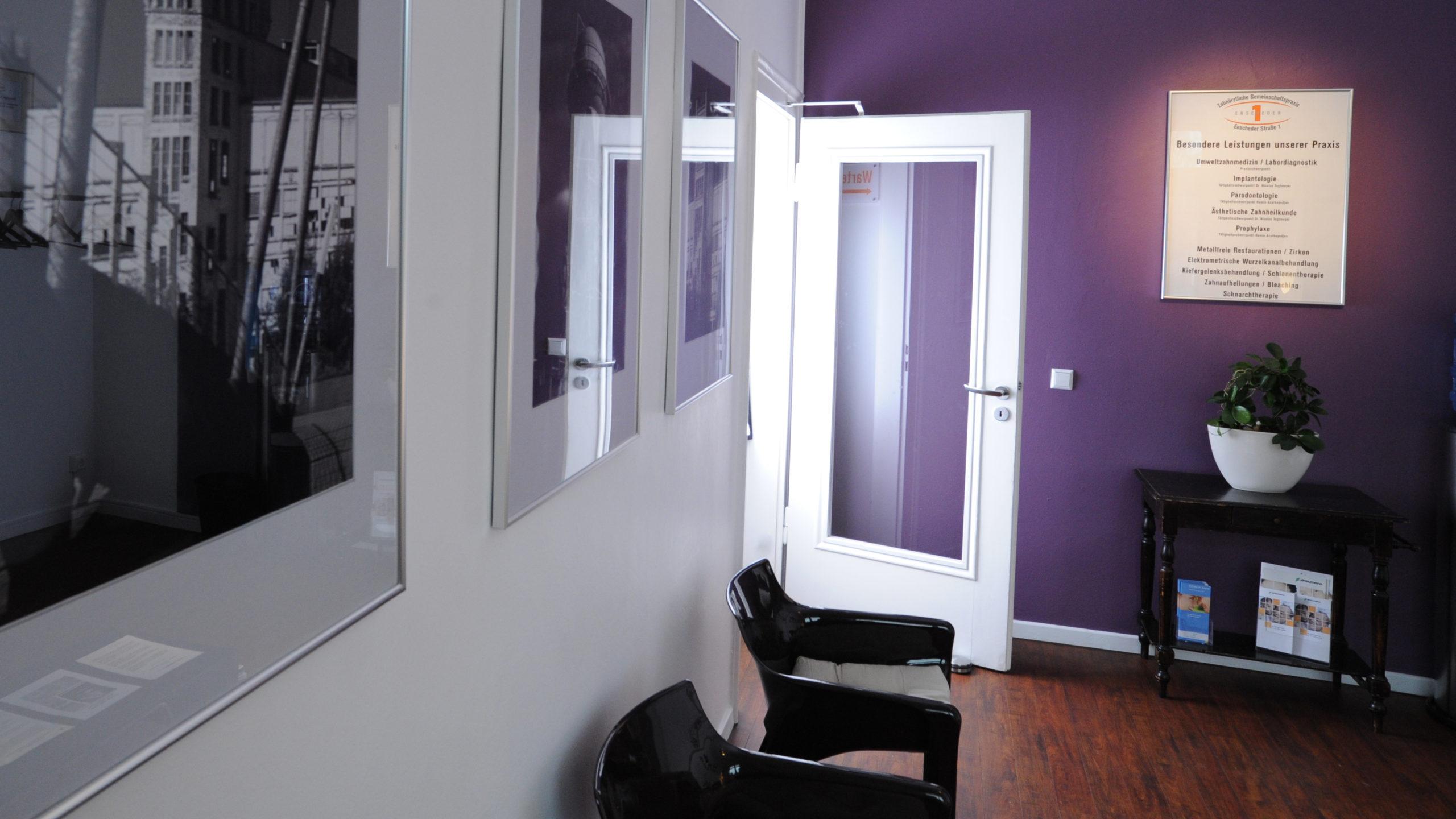 Zahnärztliche Gemeinschaftspraxis Enscheder Strasse 1 Foto 2 Impression des Warteraum