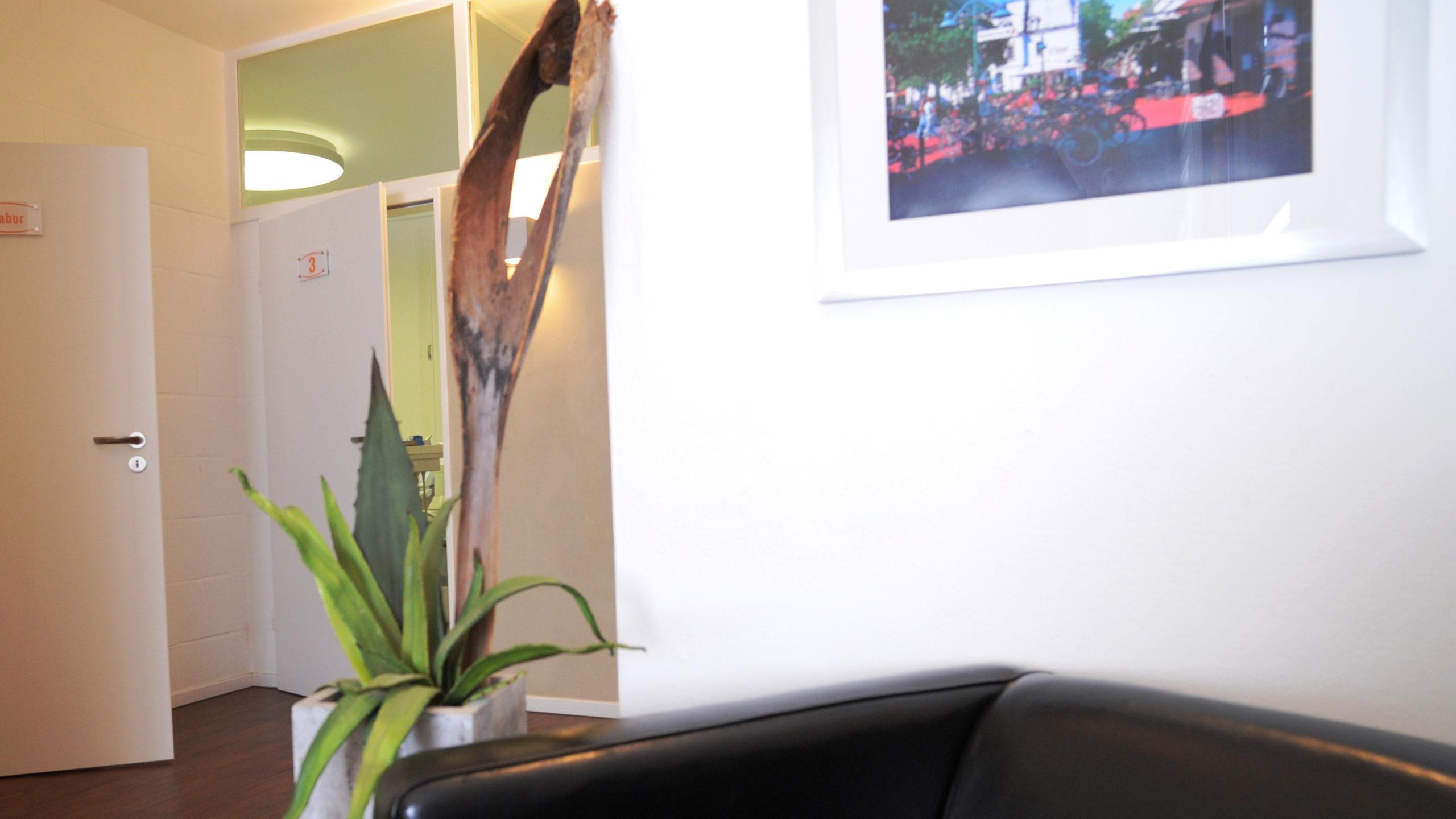 Zahnärztliche Gemeinschaftspraxis Enscheder Strasse 1 Foto 6 Impression vom Empfang